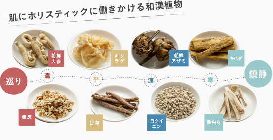 HANAオーガニック9種の和漢植物